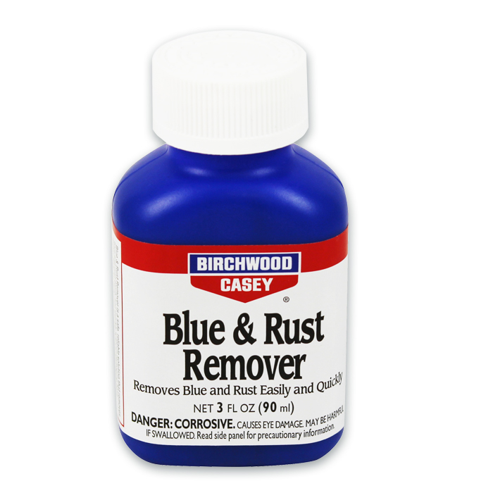Birchwood Casey Blue & Rust Remover 3 Ounce