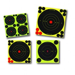 """Birchwood Casey Shoot•n•c 8"""" Bull's-eye Target - 6"""