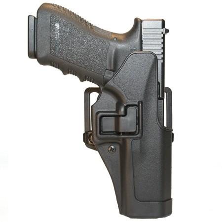 Blackhawk Cqc Serpa Holster Matte Finish Glock 19, 23