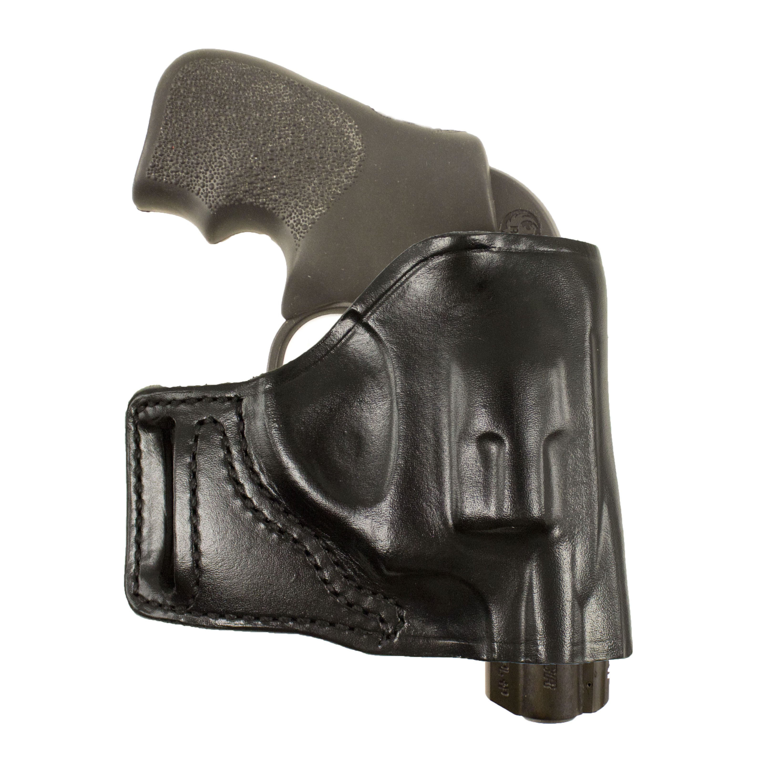 Desantis E-GAT Slide Holster – Right, Black 115BAN3Z0 – Ruger LCR, S&W All  J Frames 2″-2 1/4″