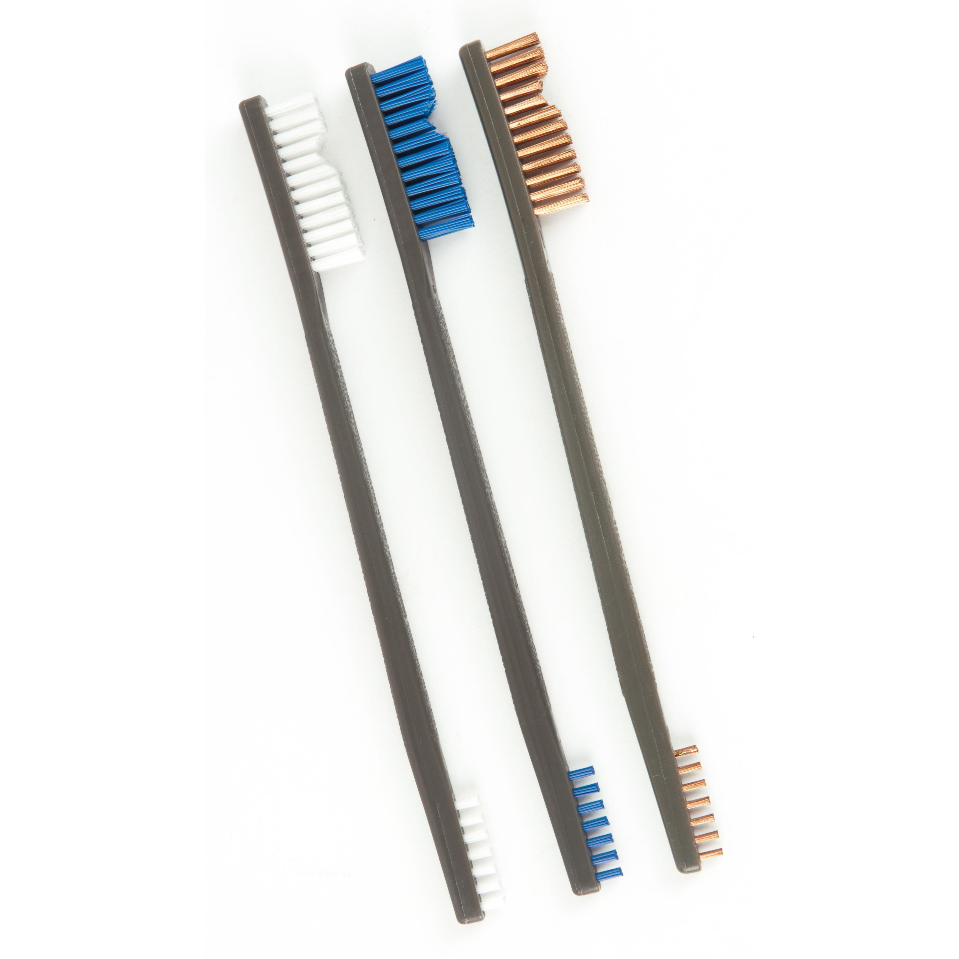 Otis Variety Pack Receiver Brushes Nylon, Blue Nylon