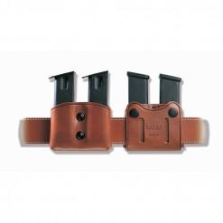 Galco Dmc Double Magazine Pouch 45 Acp, 10mm