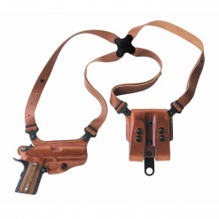 Galco Miami Classic Shoulder Holster System, Black