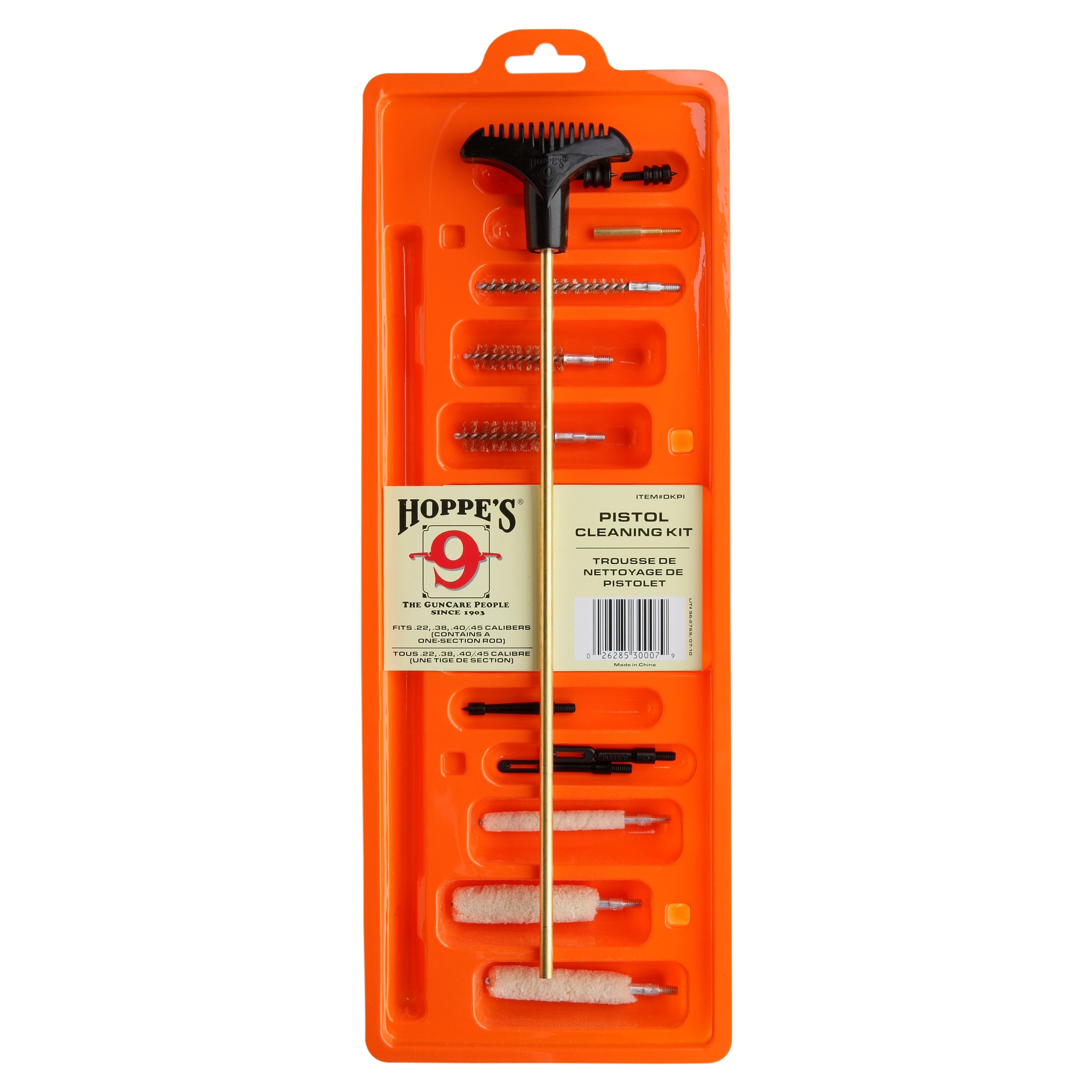 Hoppe's Cleaning Kit For All Calibers (Extra Long)