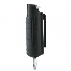 Mace Keyguard Pepper Spray, Hard Case, Black