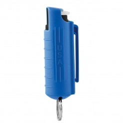 Mace Keyguard Pepper Spray, Hard Case Blue Model
