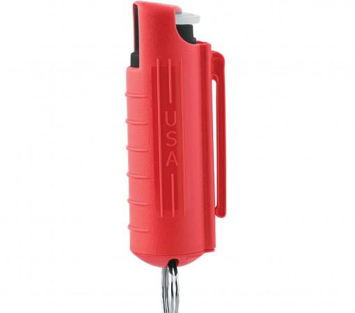 Mace Keyguard Pepper Spray, Hard Case Red Model