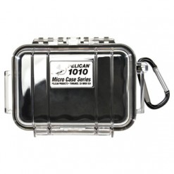 "Pelican 1010 Micro Case 4.37"" X 2.87"" X 1.68"" Polymer"