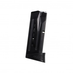 Smith & Wesson M&P Compact, 12 Round Magazine With Finger Rest, 9mm