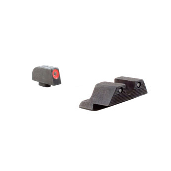 Trijicon Gl101o Glock 17/19 Hd Night Sight Set - Orange