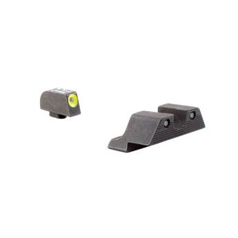 Trijicon Gl101y Glock 17/19 Hd Night Sight Set - Yellow.