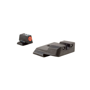 Trijicon Sa137o S&w Hd Night Sight Set - Orange