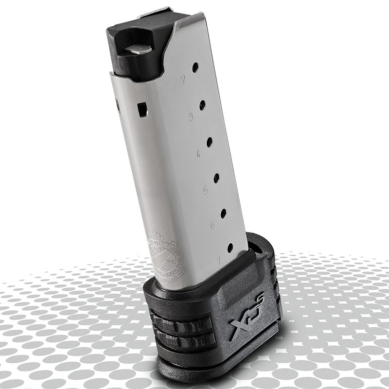 Springfield XDS, 7 Round Magazine, .45 ACP, With X-Tensions Sizes 1 and 2