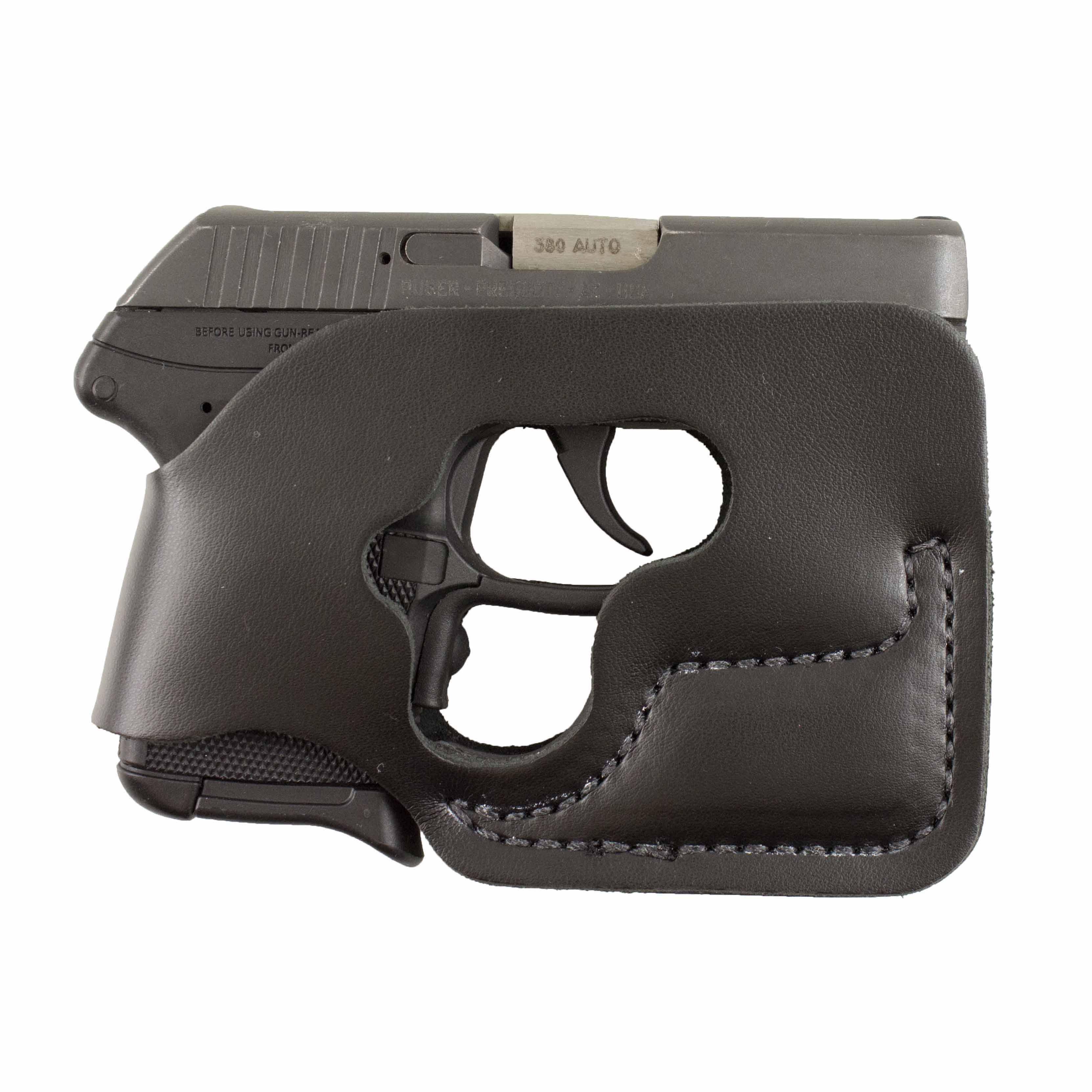 Desantis Pocket Shot Holster – Ambidextrous, Black – Ruger Lcp 380cal W/ Ct  Lg-431 Laserguard 110bjt7z0