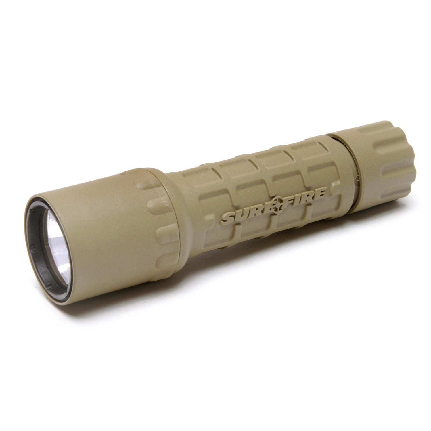 surefire g2x tactical flashlight tan shoot straight