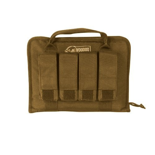 Voodoo Tactical Pistol Case With Mag Pouches 25-0017