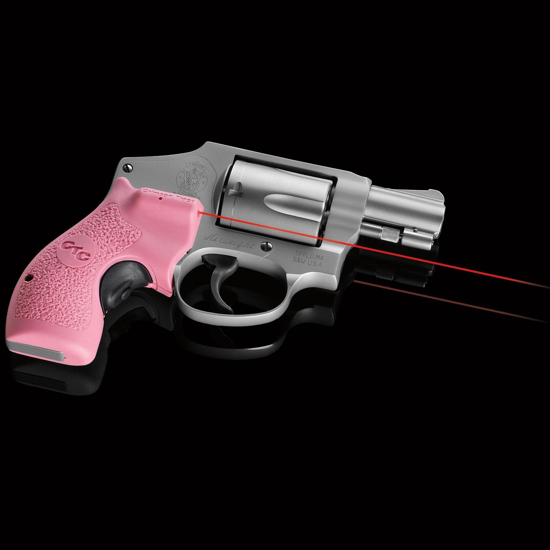Crimson Trace LG-105 Pink Lasergrips For S&W J-Frame