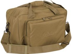 Voodoo Tactical Two-in-one Full Size Range Bag Coyote