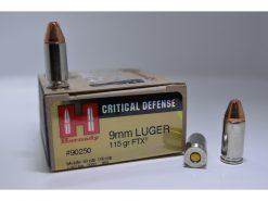 hornady critical defense 9mm