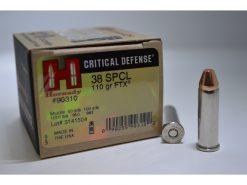hornady critical defense 38 special