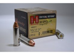 hornady critical defense 38 special +p