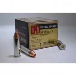 hornady critical defense 38 special +p