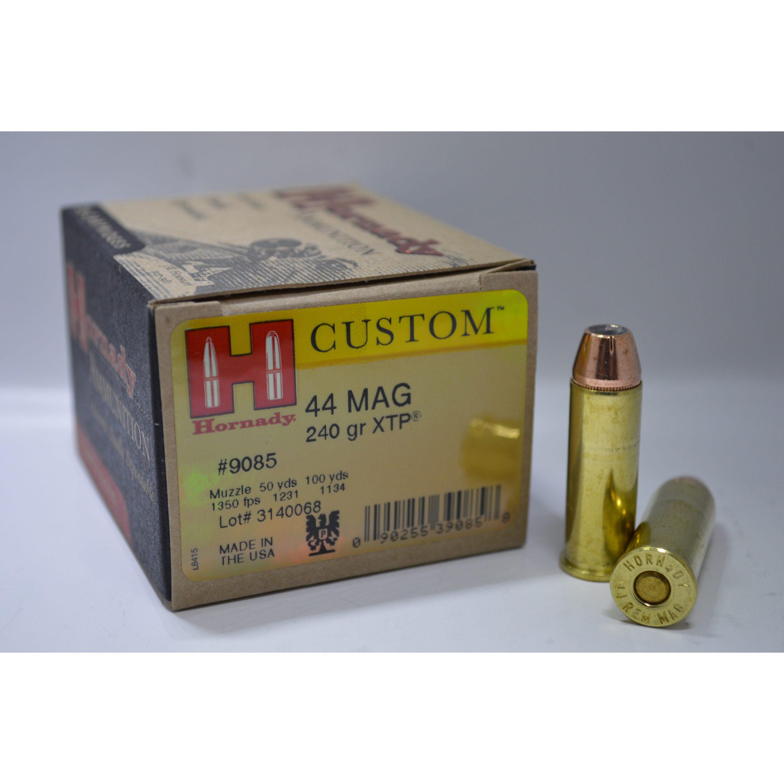 Hornady 44 Mag 240 gr XTP®