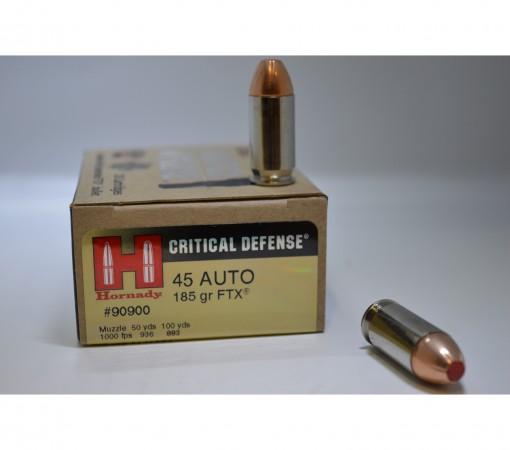 hornady critical defense 45 acp