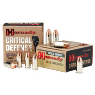 hornady critical defense 9x18mm