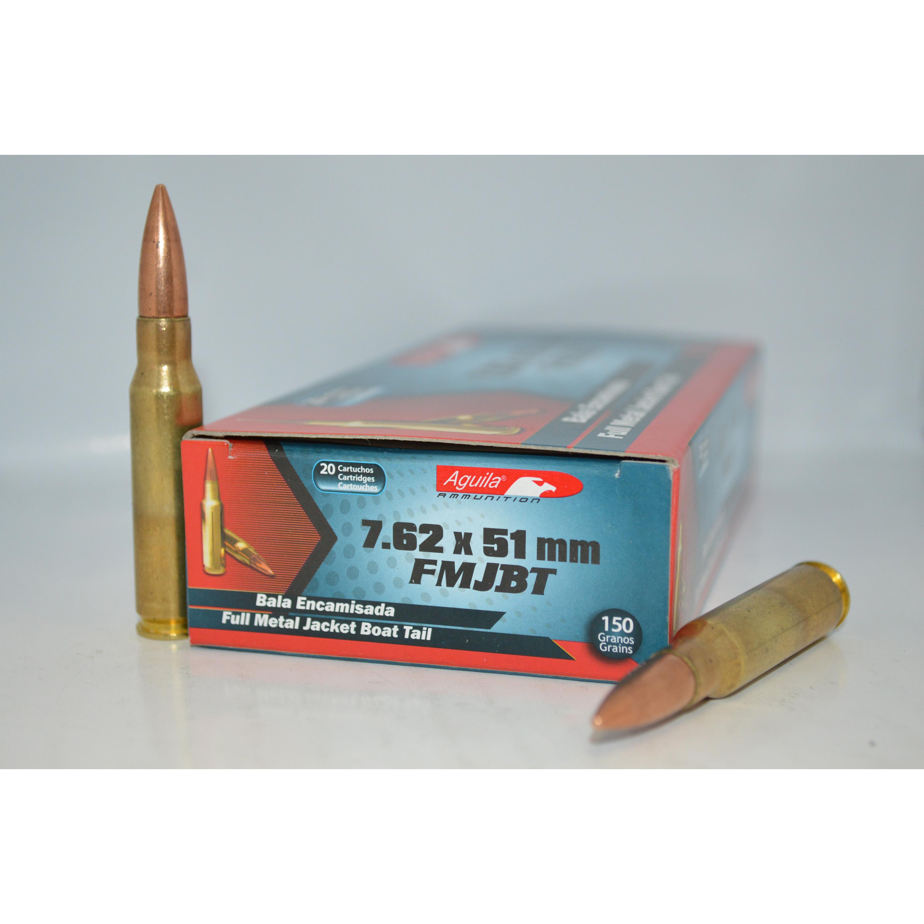 Aguila 7.62x51mm 150gr FMJBT