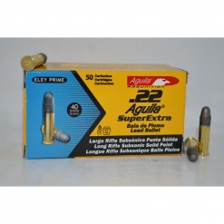 aguila 22lr superextra subsonic