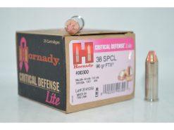 hornady critical defense 38 special lite
