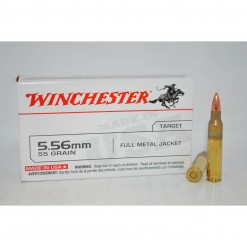 Winchester 5.56mm 55 Gr. Usa Fmj