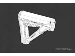 Magpul CTR Carbine Stock Mil-Spec Model BLK