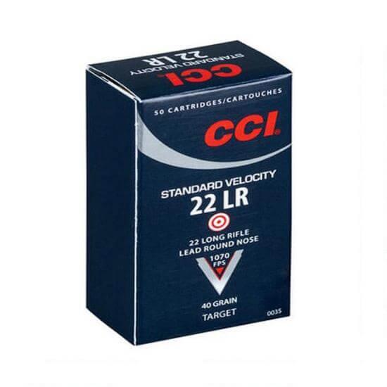 CCI 0035 22LR Standard Velocity 40Gr LRN, 50 Rounds