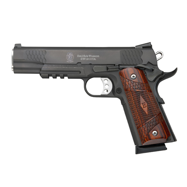 Smith & Wesson 1911TA E-Series Matte Black, 8 Round Semi Auto Handgun, .45 ACP