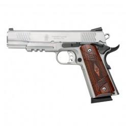 Smith & Wesson 1911TA E Series Silver, 8 Round Semi Auto Handgun, .45 ACP