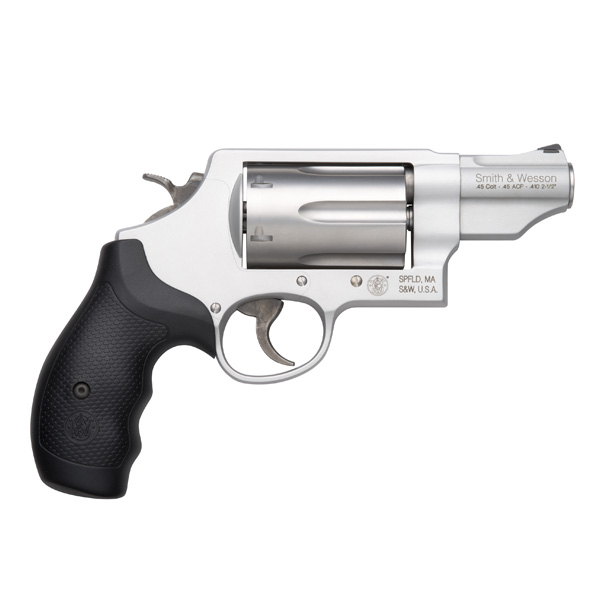 Smith & Wesson Governor Matte Silver, 6 Round Revolver, 45 Long Colt/ 45ACP/ 410