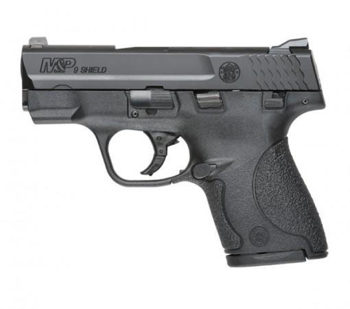 Smith & Wesson M&P 9 Shield Thumb Safety, 7 Round Semi Auto Handgun, 9MM