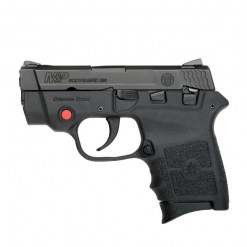 Smith & Wesson M&P Bodyguard 380 Crimson Trace Thumb Safety, 6 Round Semi Auto Handgun, .380 ACP