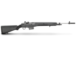 Springfield Loaded M1A Black, Stainless Steel Barrel, 10 Round Semi Auto Rifle, 7.62X51mm NATO/.308 Win
