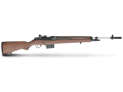 Springfield National Match M1A Walnut, Stainless Steel Barrel, 10 Round Semi Auto Rifle, 7.62X51mm NATO/.308 Win