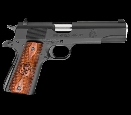 Springfield 1911 Mil-Spec Parkerized, 7 Round Semi Auto Handgun, .45 ACP