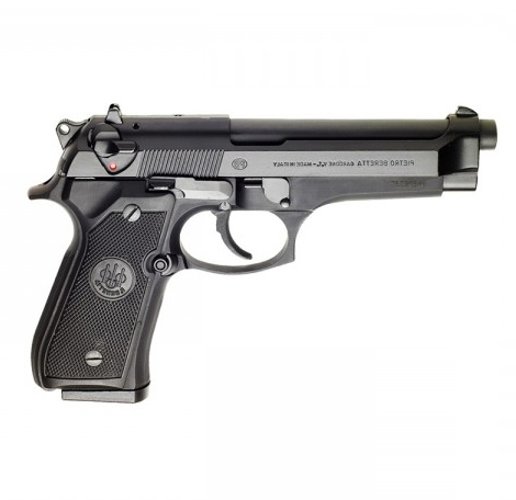 Beretta 92FS JS92F300M Black 4 9″ Barrel 9mm Luger
