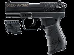 Walther PK380 Black With Laser, 8 Round Semi Auto Handgun, .380 ACP