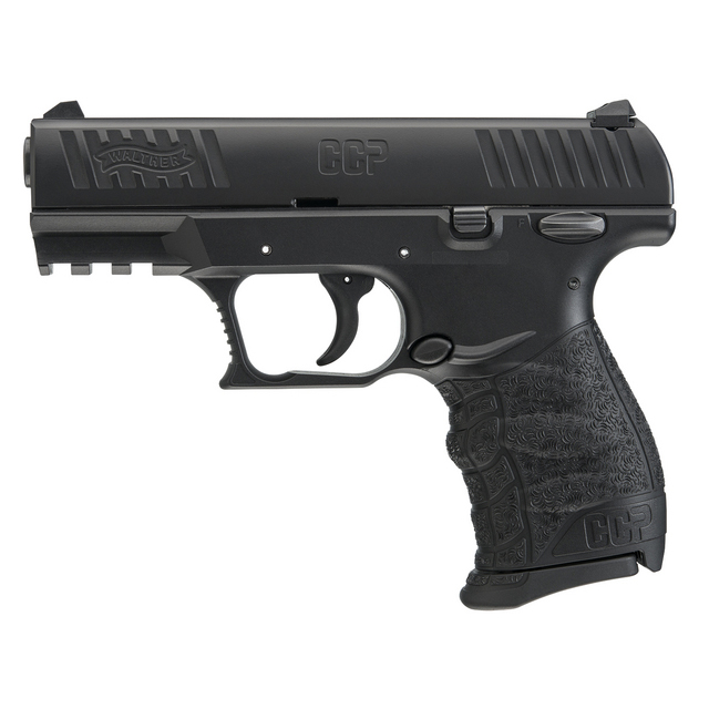 Walther CCP Black, 8 Round Semi Auto Handgun, 9mm