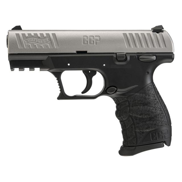 Walther CCP Stainless, 8 Round Semi Auto Handgun, 9mm