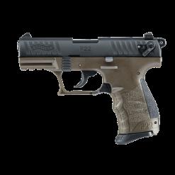Walther P22 Military OD Green, 10 Round Semi Auto Handgun, .22 LR
