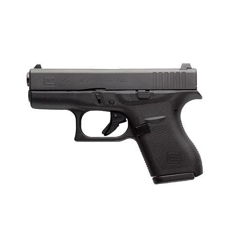 Glock 42, 6 Round Semi Auto Handgun, .380 ACP