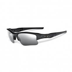 Oakley Flak Jacket XLJ Black Grey Polarized